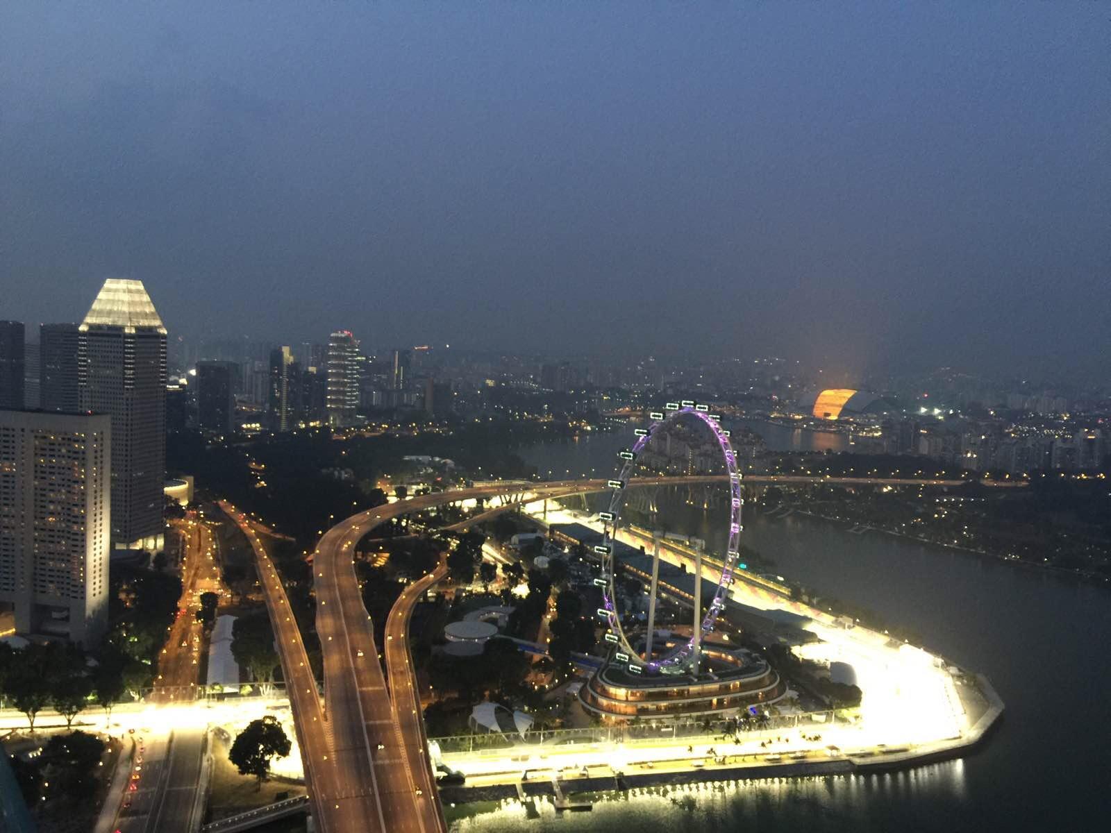 新加坡与民丹岛的悠闲