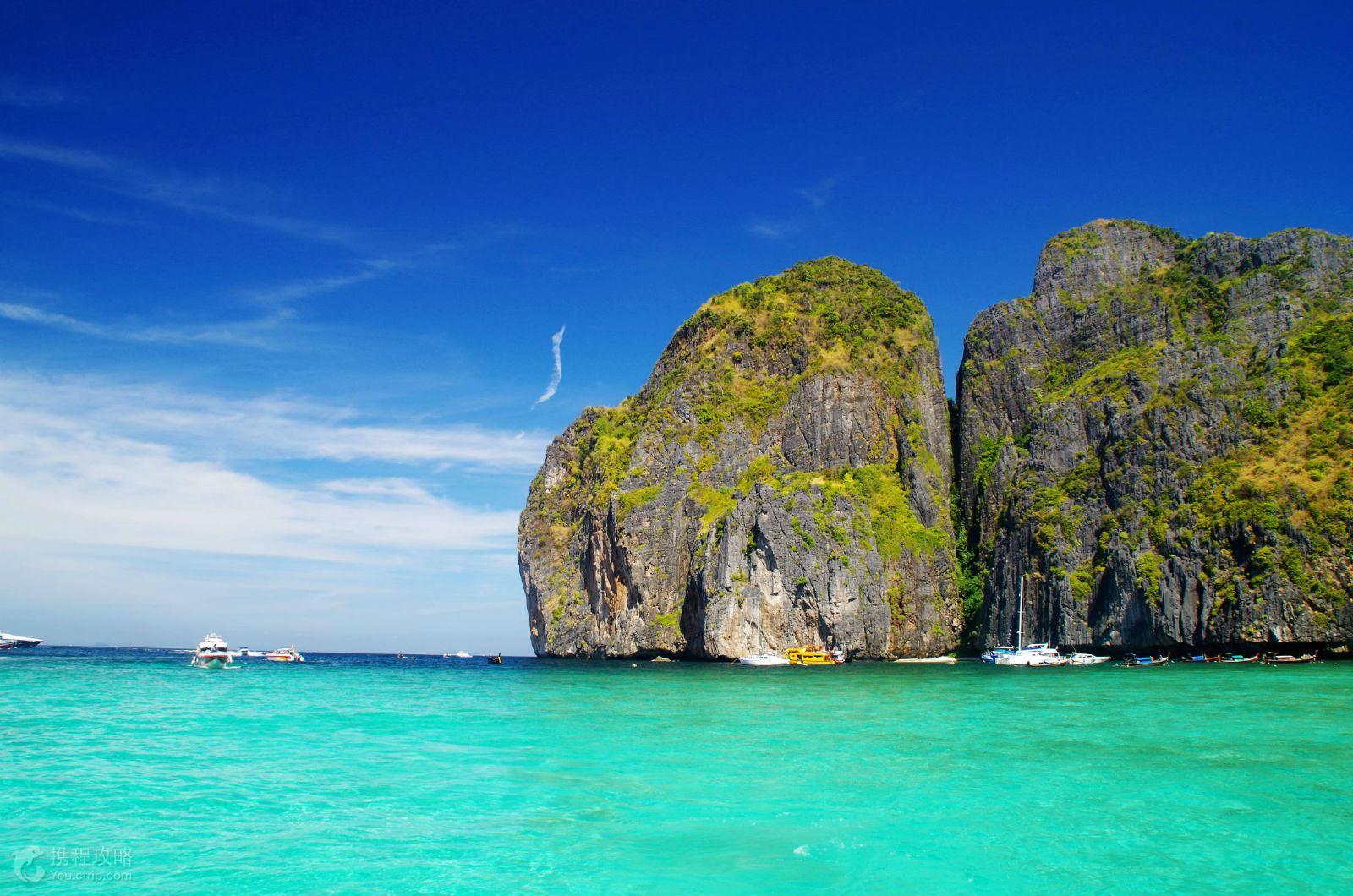 泰国 普吉岛6日4晚跟团游 大小PP岛 蓝钻珊瑚岛 攀牙湾007 人妖秀