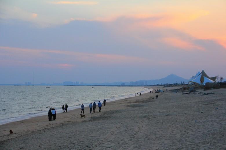 国庆三天北京青岛自驾.早5点北京北四环出发