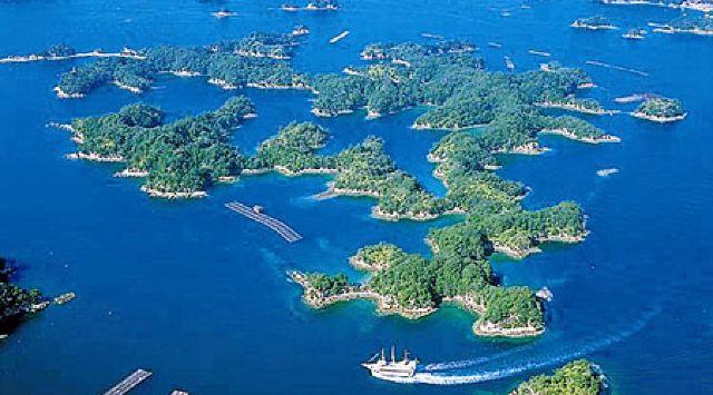 3分 (34条点评) 27 九十九岛是长崎的代表景点,是由208个岛屿组成的.
