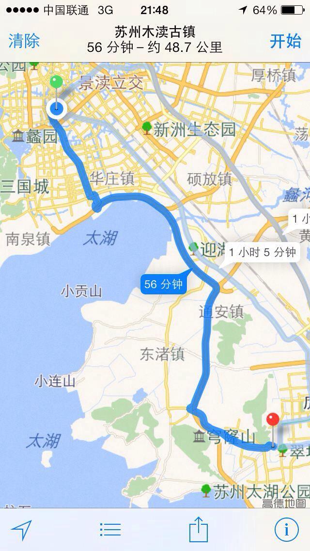 环太湖5日自驾游(上海出发)