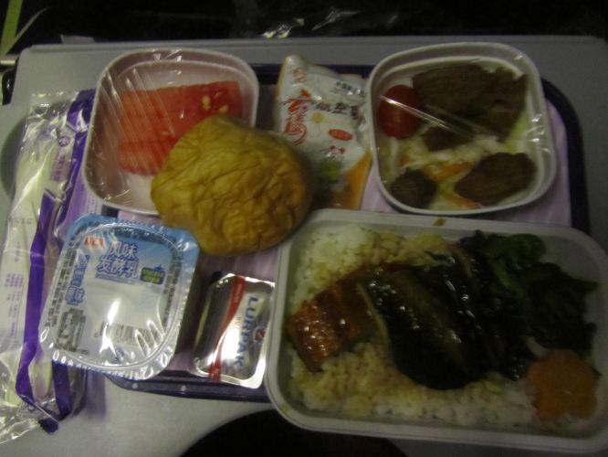 东航的飞机餐