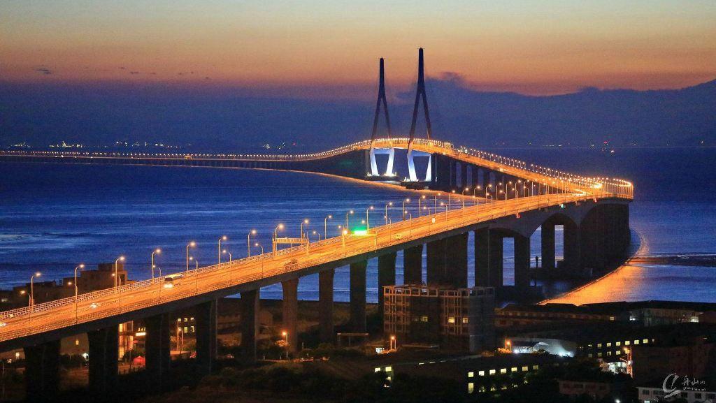 舟山跨海大桥风景区:观桥 看海 吃鮸鱼