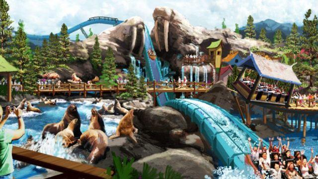 【珠海长隆海洋王国】 海洋王国拥有八大主题园区:惊险刺激为主的雨林