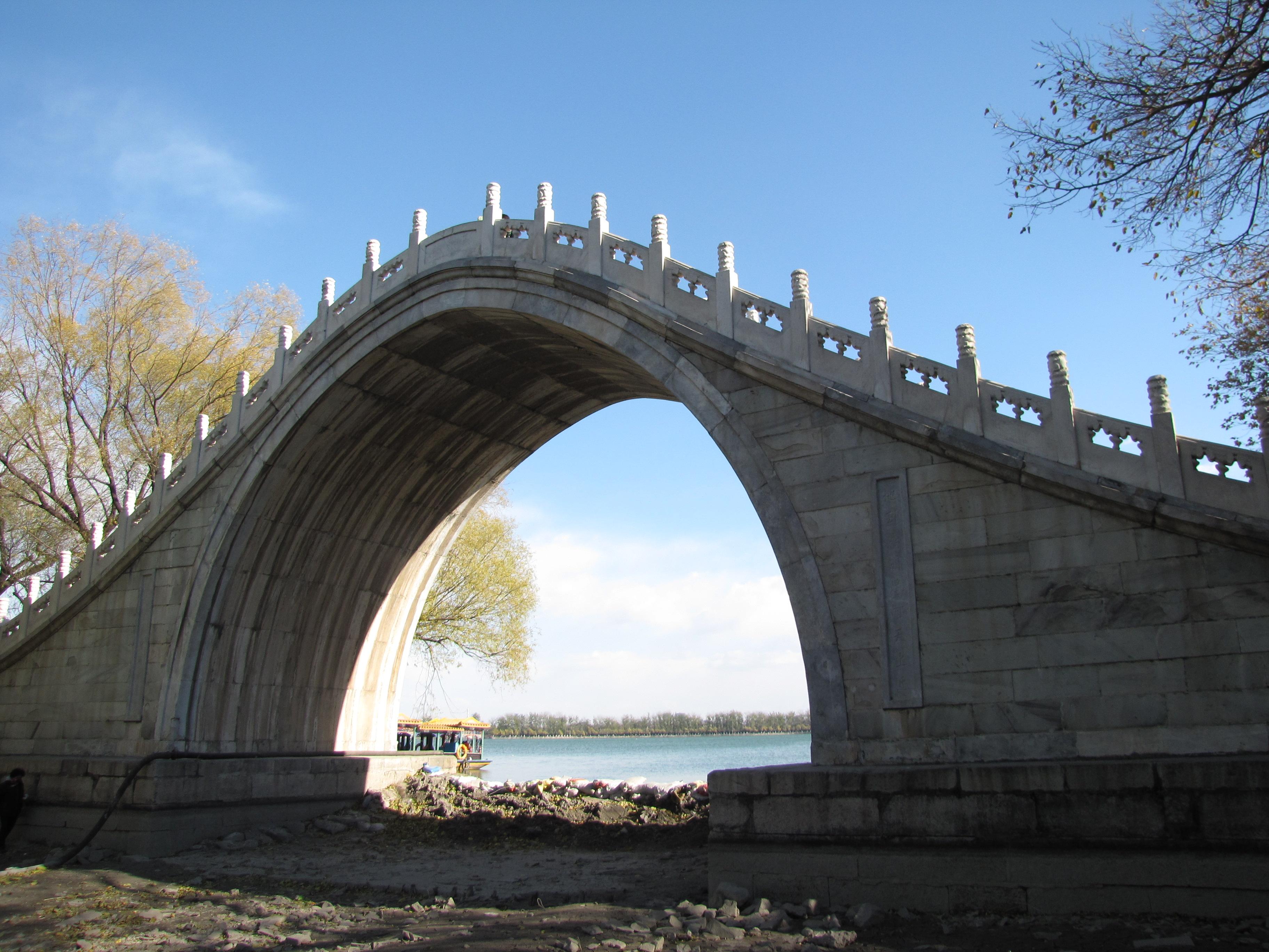 石拱桥-颐和园 的桥 最美