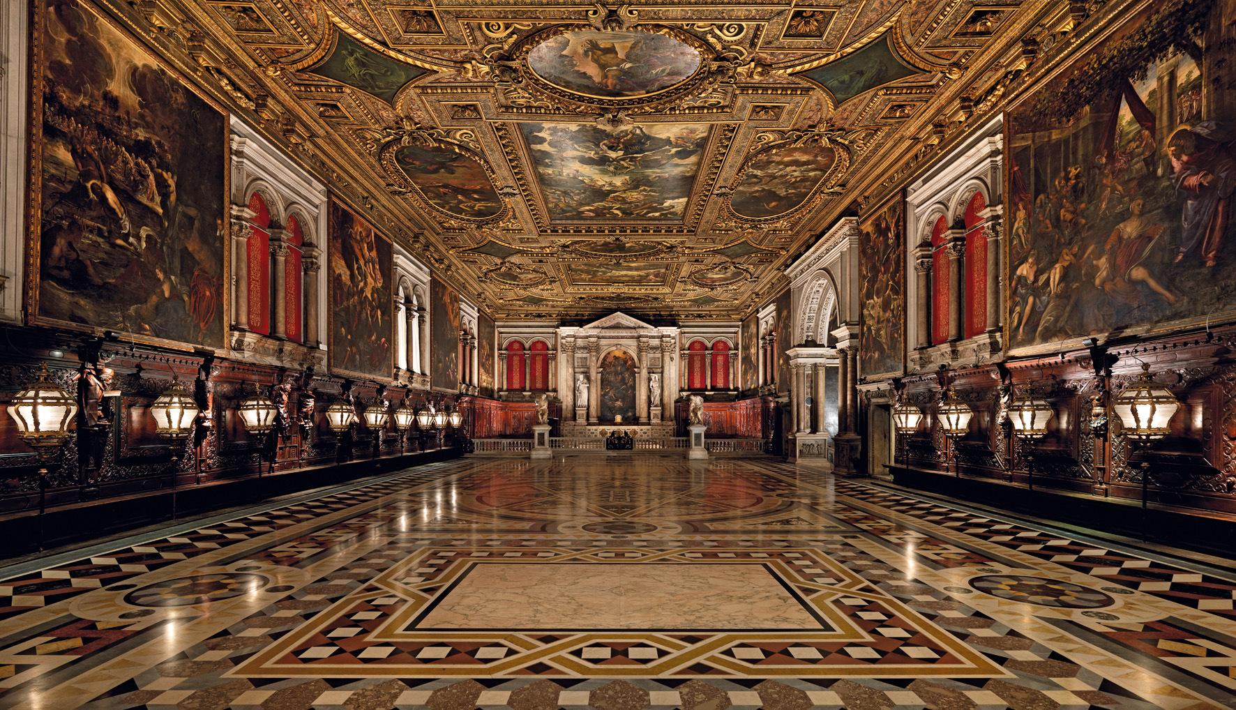 圣洛可大会堂  Scuola Grande di San Rocco   -2