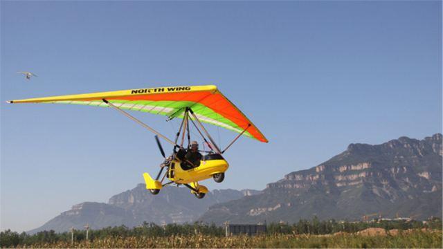 【携程攻略】安阳动力三角翼飞行体验票怎么样