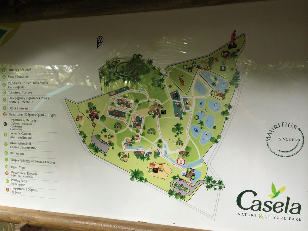 动物园平面图,其实不算太大