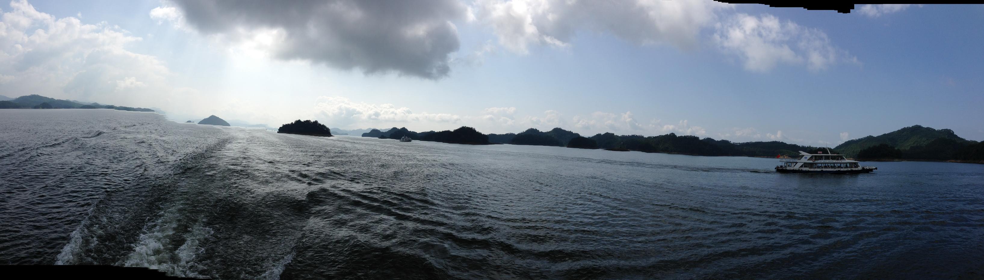 2014儿童节畅游千岛湖