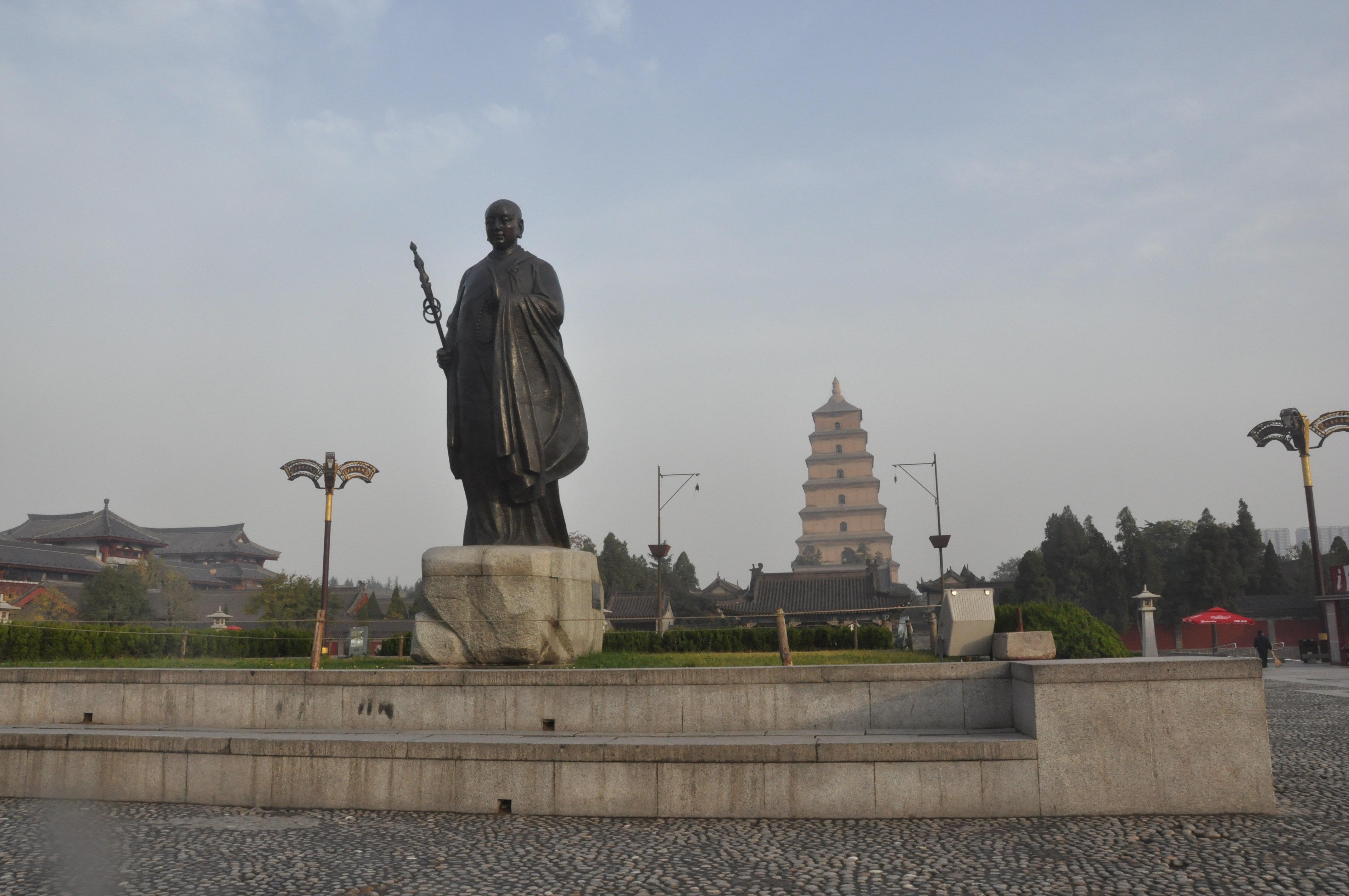 大雁塔北广场 陕博最值得去了,但是要预留足够的时间.