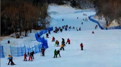 亚布力小刚农家院1晚+新体委滑雪场[初级道2小