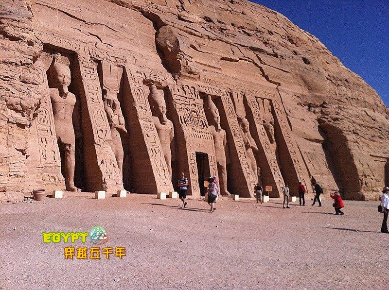 哈索尔神庙  Temple of Hathor   -0