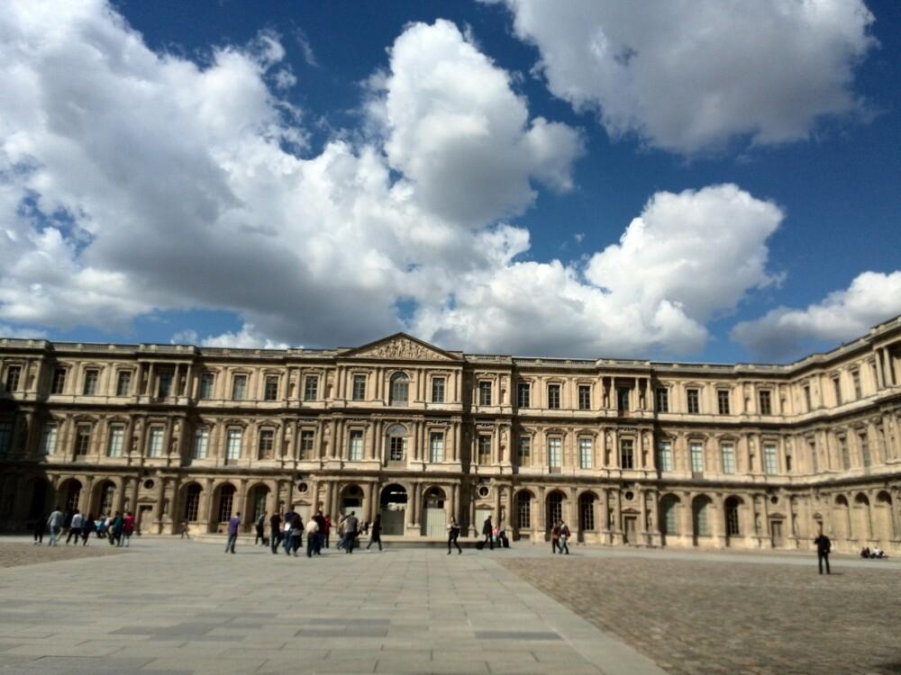 卢浮宫宫内房屋布置平面设计图