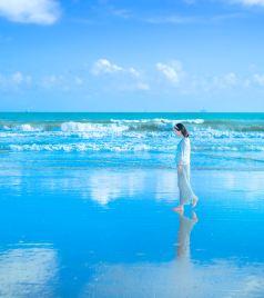 海南游记图文-孕期旅行|一个身体两颗心跳,带你去天之涯海之角,邂逅网红却又安静的三亚
