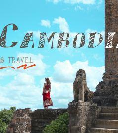 柬埔寨游记图文-手绘柬埔寨|坐tutu游吴哥窟,在暹粒的十张小画