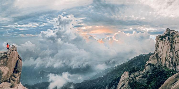 天柱山图片