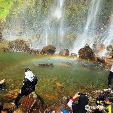 Rainbow Waterfall-桑盖雷冰