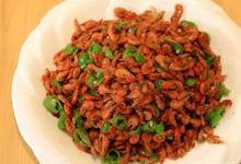 湘西美食图片-沱江小虾
