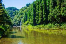 龙苍沟叠翠溪景区-荥经-旅啊游泳