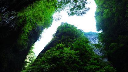 金丝峡神鞭峰