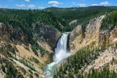 上瀑布-黄石国家公园-尊敬的会员