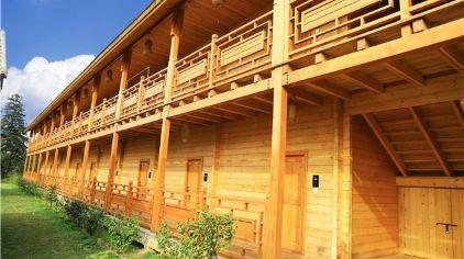 金梅岭军事度假中心-小木屋