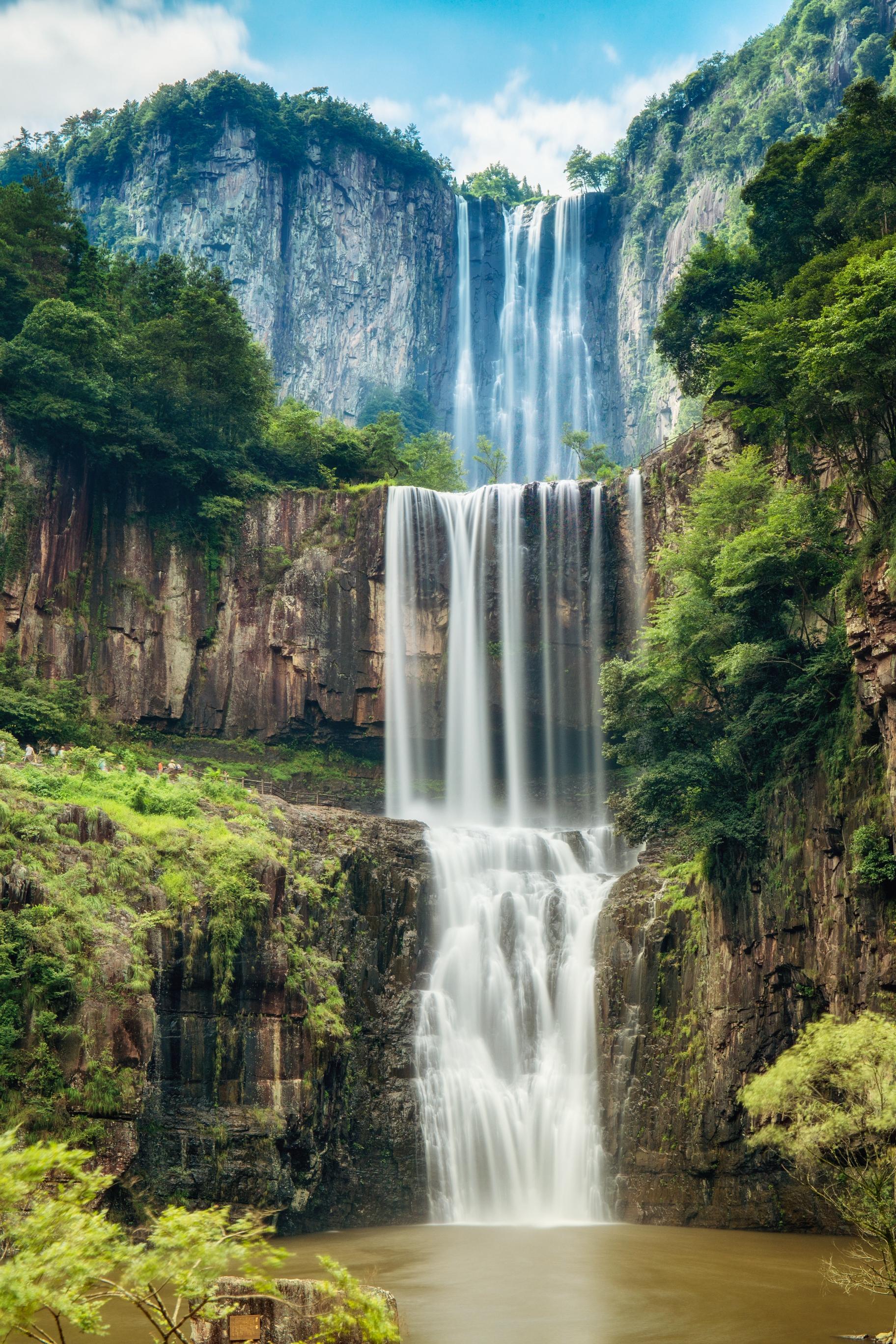 溫州百丈飛瀑 +天頂湖+劉伯溫故里旅遊景區-百丈漈一日遊(溫州包車遊)