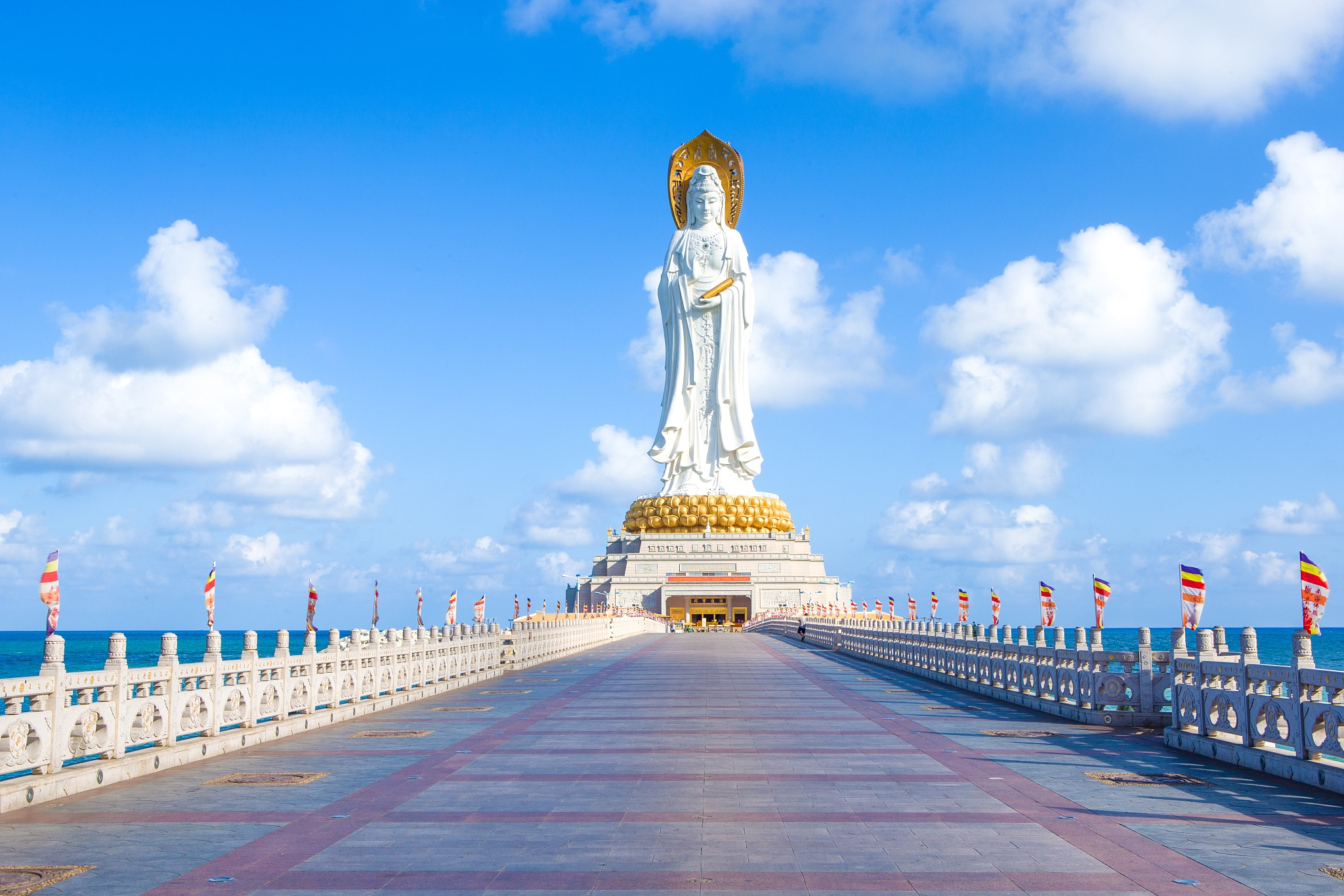 15% Off Presale Sanya Nanshan Cultural Tourism Area + Tianya Haijiao Ticket Special Car Chartered Car One Day Tour (valid for 2020, full refundable)
