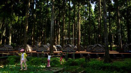 帐篷宿营区
