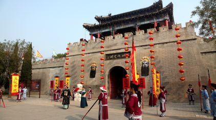 江湖文化城开城仪式