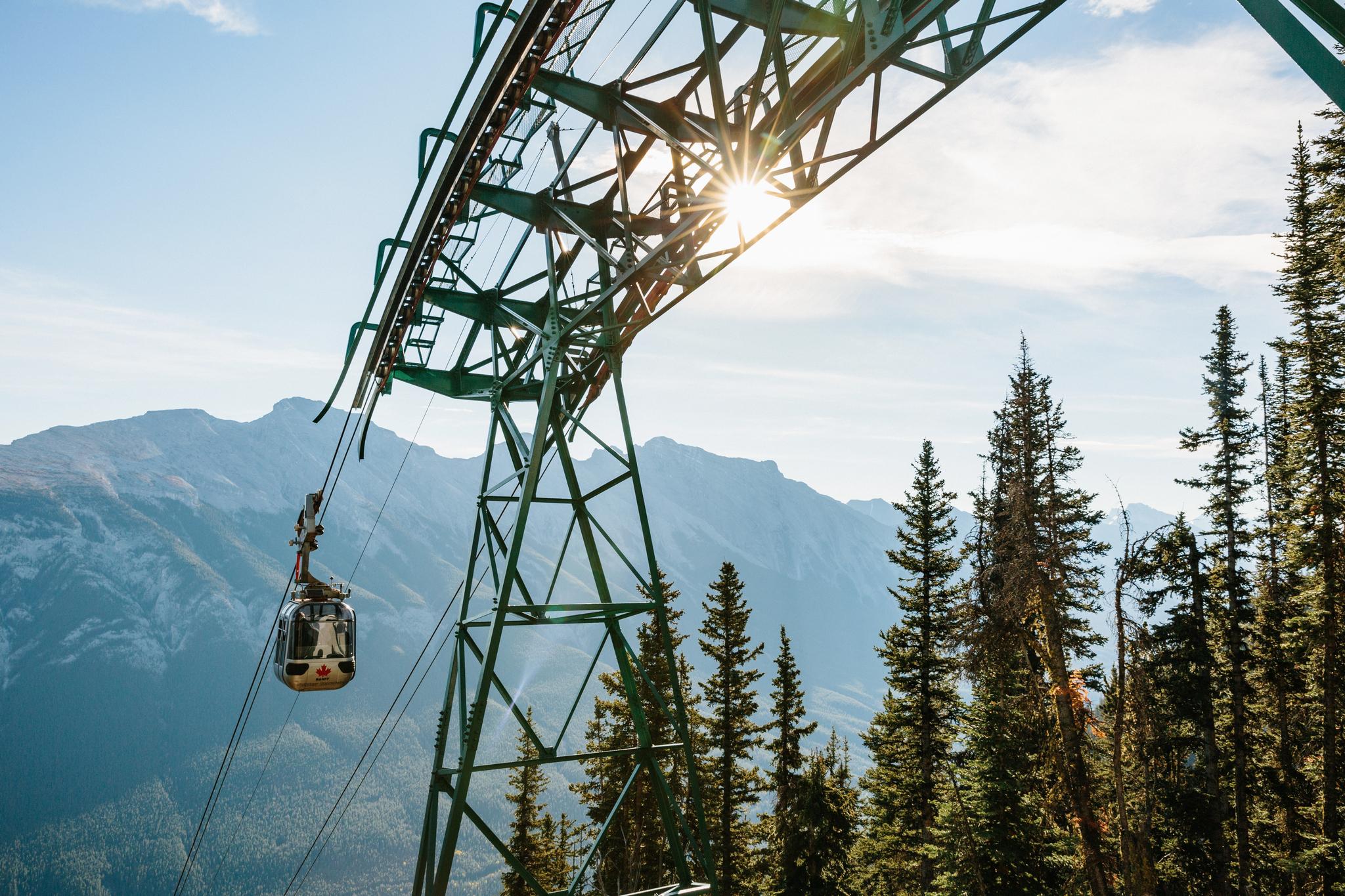 Sulphur Mountain Banff Gondola Ride Ticket