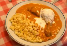 布达佩斯美食图片-红椒鸡