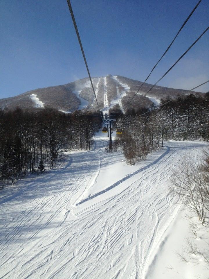 岩手縣安比高原滑雪場(日本東北區域)