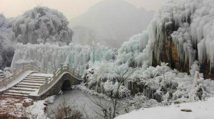 大平台龙居瀑布旅游区11(2017-1-3)