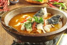泸沽湖美食图片-石锅鱼