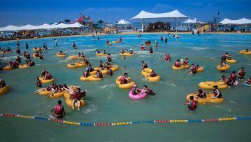孔雀海滩水乐园沙滩