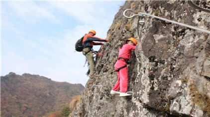 飞拉达攀岩