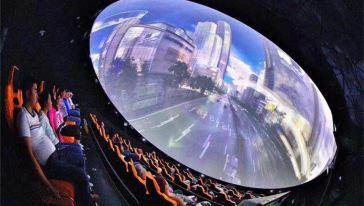 三清山360°极限飞球