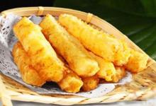 九寨沟美食图片-洋芋糍粑