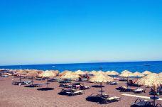 卡马利黑沙滩-圣托里尼-hiluoling
