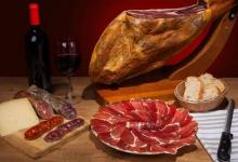 瓦伦西亚美食图片-西班牙火腿