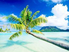 Matira海滩-波拉波拉岛-加藤颜正Kato