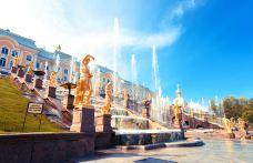 夏宫-圣彼得堡-是条胳膊