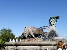 盖费昂喷泉-哥本哈根-轻快的行走脚步