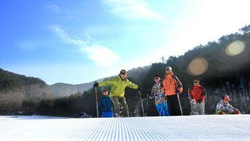 大明山万松岭滑雪场 (2)