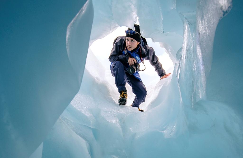 Helihike 直升机冰川徒步 3