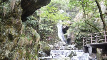 观音岩森林体验基地沿途特色-仙女浴瀑布