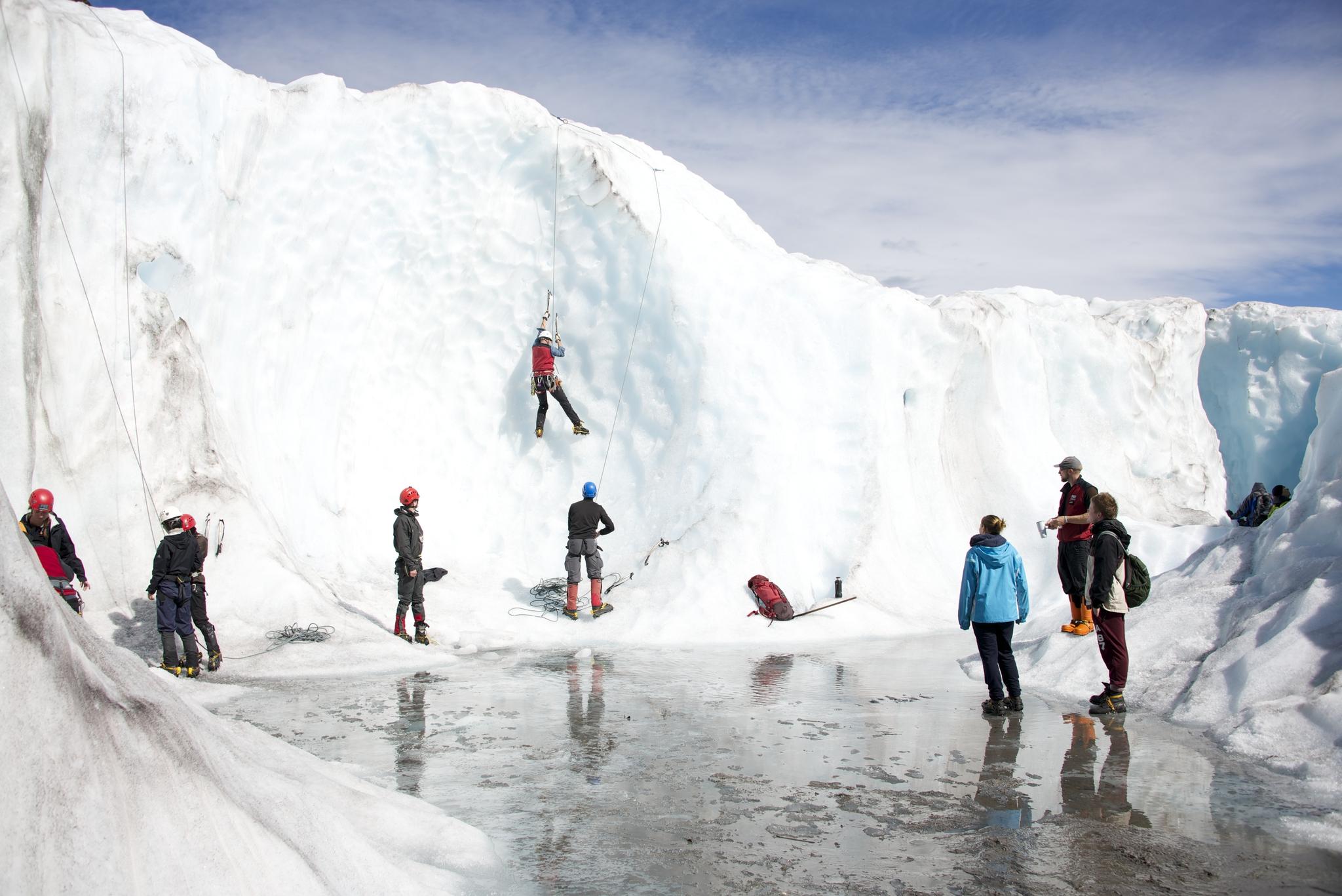 Ice Climbing FGG攀冰 1