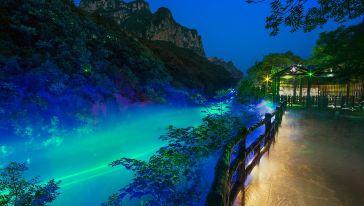 云溪谷夜游