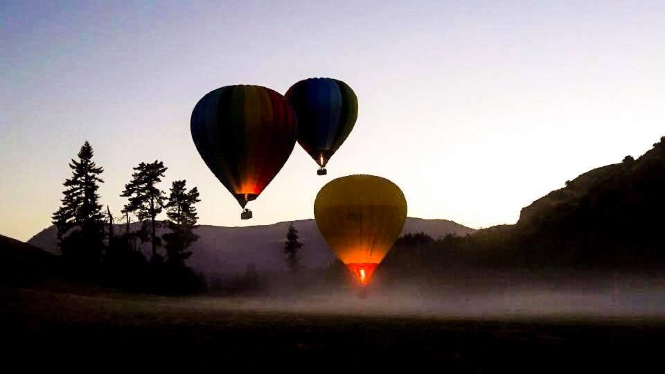 Queenstown Hot Air Ballooning Tour